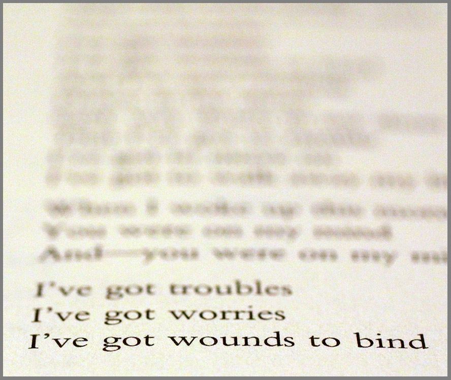 Lyric jingle jangle jingle lyrics : Read It! Wounds To Bind by Jerry Burgan AND: Found! We Five's You ...